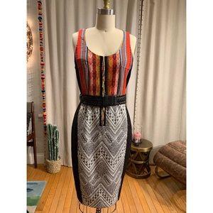Byron Lars Gramercy Beaded 🧮 Pencil ✏️ Dress